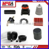 solid foam rubber tubes