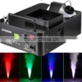 Hot China 1500W Colorful RGB Smoke Mosquito Fog machine Pump DMX Stage Effect Equipment with LEDs For Sale Christmas Disco DJ