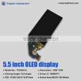 transparent oled TF55001A oled module for Iphone mobile