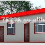 hot sale china iso certification light steel structure modular moblie prefab one-story house