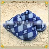 Fachion Indoor Slippers - Cotton Fabric Bathroom Slippers / 100% Cotton Coral Fleece Hotel Slippers / Oem Acceptable