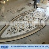 natural stone waterjet marble tile floor medallion designs                                                                         Quality Choice