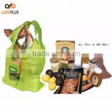 Luckiplus Fruit Shopping Bag Foldable Tote Shopping Bag Spacious and Portable Kiwi Fruit