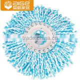 high quality 360 esay magic floor cleaning spin washable microfiber mop heads