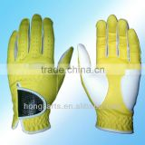 Synthetic Letaher Golf Gloves