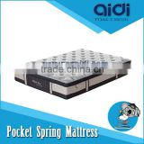 High Quality Knitting Fabric Rolled Mable Memory Foam Euro Top Pocket Spring Mattress OMU-FP32