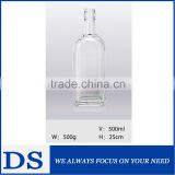 High quality empty tequila glass bottle wholesale