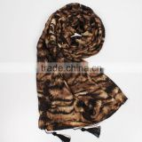 high fashion custom-made leopard print hijab scarf accesories women                                                                         Quality Choice