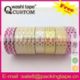 Hot-seller custom printed custom printed foil masking tape wholesale for Birthday card mask adhesive