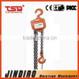 Type HSZ-A2 CE Approved 3 ton Lifting Height 3M Heavy Duty Manual Chain Hoist / Chain Block / Chain Hoist / Chain Pulley Block