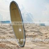 2014 hot sold durable and fashion sup wood boarding board/Best surfboard