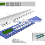 Ruler Calculator With Water Power Battery