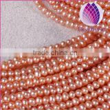 5-5.5mm Natural Freshwater Pearls patato shape surface with little flaw