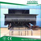 12T Heavy Duty Goods Container Unloading Ramp Fixed AC Motor Electric Hydraulic Car Loading Ramp