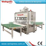 PLC Short cylcle laminating hot press for door /Automatic loading unloading hot press machine