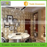 china home decor wholesale wall decoration faux leather polyurethane foam 3 d decor panel wall