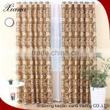 XIANA brand ED5005 turkish market floral patten jacquard suede turkish curtain fabric