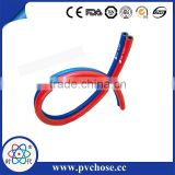 EN Standard Flexible red and blue oxygen and acetylene gas twin line welding rubber hose