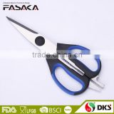 S35.6006 -2016 New design multi-function kitchen scissors with soft-grip handle and sharp stainless steel blade
