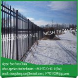 Easy assemble square steel fence iron fence philippines