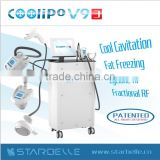 Freckle Removal Multi-Function Fat Freezing Shockwave Wrinkle Removal Therapy Slimming Beauty Salon Equipment