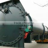 steam autoclave machine for rubber vulcanization