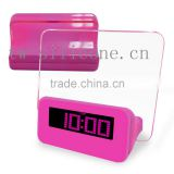 Colorful Led Digital Alarm Clock with USB Hub