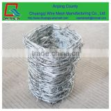 China Gold Supplier Used Barbed Wire For Sale / Barbed Wire Weight Per Meter For Fence /barbed wire roll price fence