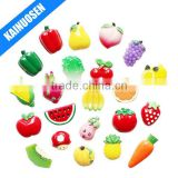 Creative Vegetables fruits Fridge Magnet Resin Refrigerator Magnets Set