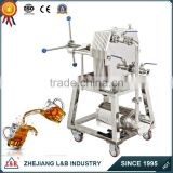 filter press machine coconut milk filter press beer filter press