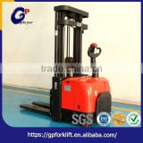 Alibaba export low price high efficient industrial handling vehicles full electric stacker
