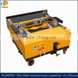 Longlife automatic wall render machine/ wall painting machine with best quality and factory price