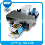 Automatic CD DVD Printer, cd Cover Printing Machine , L800 Inkjet CD DVD Printer for Sale
