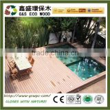Wpc Decking Outdoor anti-slip Wood Flooring balcony flooring materials wood floor anti-uv wood plastic composite decking
