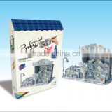 newly-developed 3D painting paper puzzle for kids LT8883B