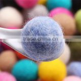 handmade DIY material classical round ball felted wool hair bobby pins ornament raw materials plush toy wholesale