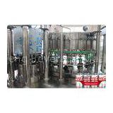 Full Automatic Filling Capping Machine Carbonated Drink Production Line for PET / Tin Can
