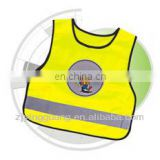 EN1150 Standard Kids Reflective Vest With Elastic