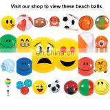 hot sales Inflatable blow up SMILE LOVE HEART EYES EMOJI FACE beach ball PROMOTIONAL gift GC002