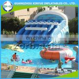 Factory directly shipping Inflatable water park slide rentals, amusement water park for kids and adults