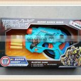 battle plastic eva soft bullet gun transformable robot toy
