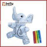 New diy cartoon doll washable coloring toy