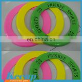 Promo gifts flying ring hollow frisbee,frisbee with hole
