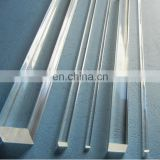 solid transparent square clear acrylic rod