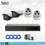 4CH Security Cameras 3MP/5MP Resolution Starlight IP Cameras Poe Alarm Security System