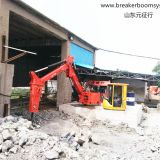 Pedestal Booms Robotic Breaker System
