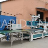 Economic RD-1325H CNC Router with Loading&Unloading System 3d cnc carving machine