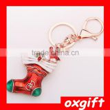 OXGIFT Christmas ornament boots socks key chain