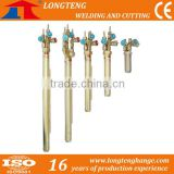 Machine Use Straight Strip Oxy-Fuel flame Cutting Torch, lpg gas cutting torch for CNC Flame Cutting Machine