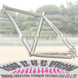 HOT SALE!full suspension 29er MTB bicycle frame, china MTB suspension titanium frame 29er, china mountain bike frame 29er